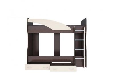 Духъярусная кровать Майа венге