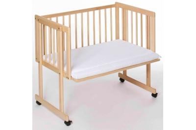 Приставная детская кроватка Easy Baby Dream and Drive (natur).