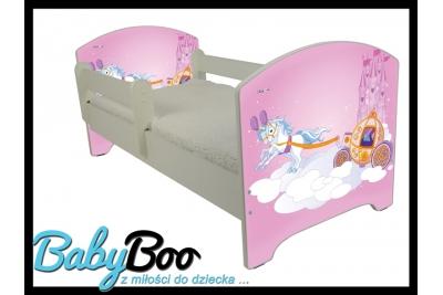 """Кровать детская от года Oskar  """"Карета"""" с матрасом."""