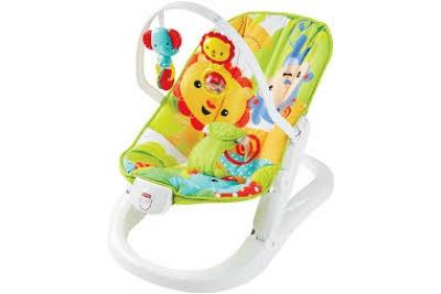 Детский шезлонг Fisher-Price CMR20 Rainforest