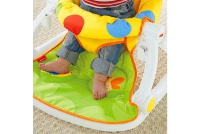 Стульчик для кормления Fisher-Price CMX43 Sit-Me-Up Floor Seat with Tray.