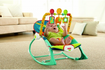 Детский шезлонг Fisher-Price X7044 Сафари.
