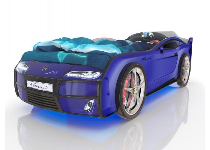 Кровать машина Romack Kiddy  Ferrari blue (синий)