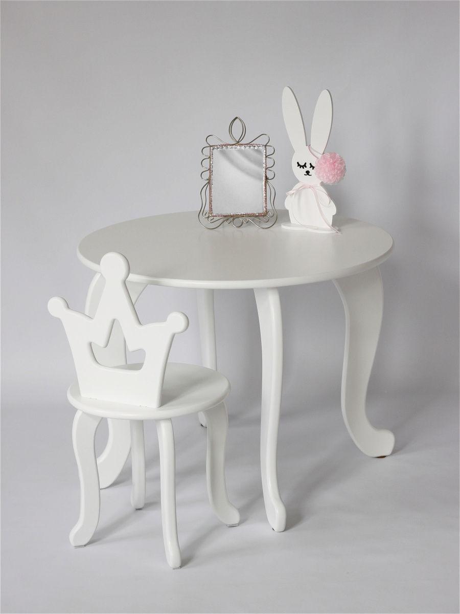 Детский столик и стульчик Королевна (комплект 1+1)