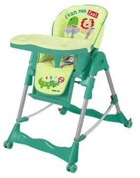 Стульчик для кормления baby mix RT-002SW green.
