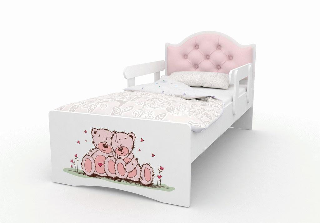 """Кровать детская от 3-х лет """"Оскар Люкс"""" с матрасом."""