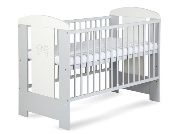 Детская кроватка KLUPS Nati bow 120/60.