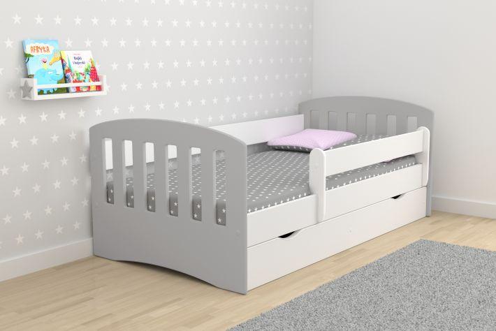 Кровать детская Хэппи-2 (модель 2) с матрасом, бортиками и ящиком.