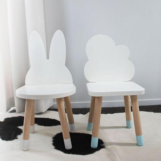 Детский стул коллекция Зайка и Облачко код товара 5709