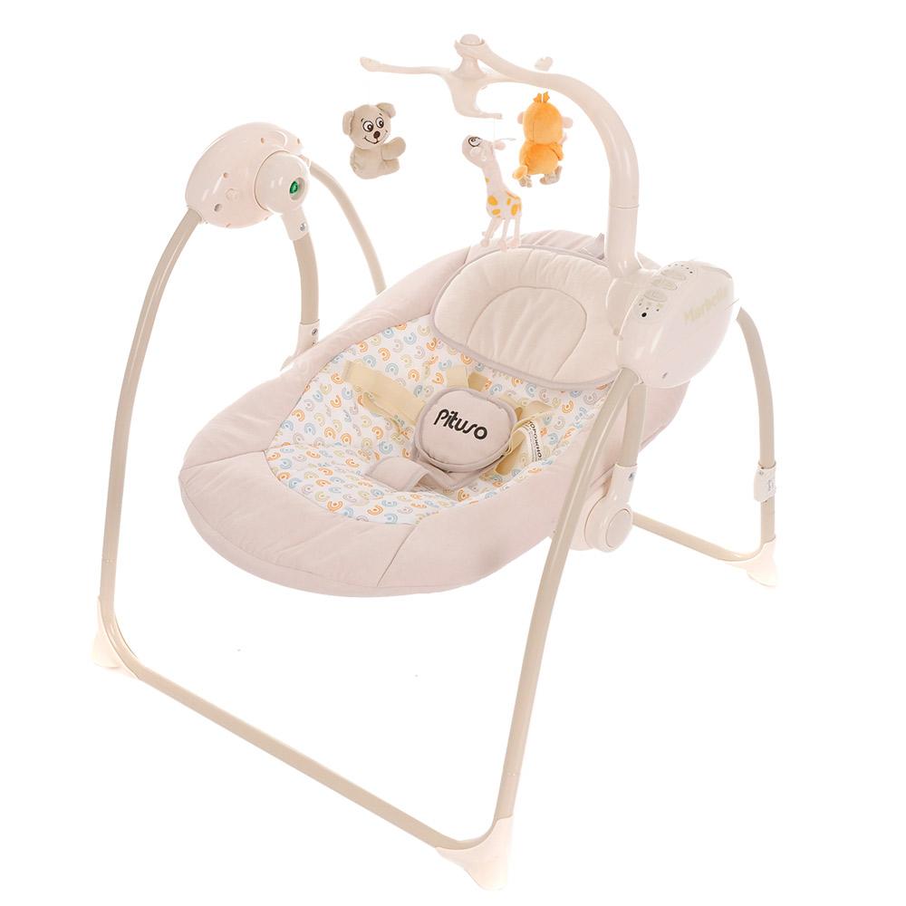 Качели для новорожденных Pituso Marbella TY-008A1 цвет bez/бежевый.