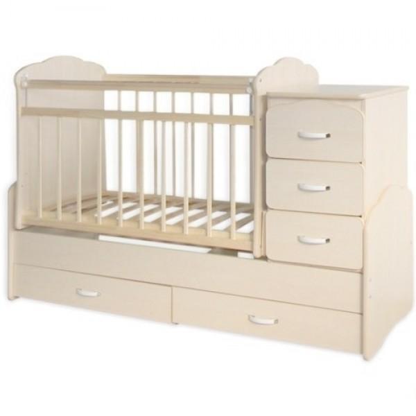 Кроватка детская трансформер СКВ 930039.