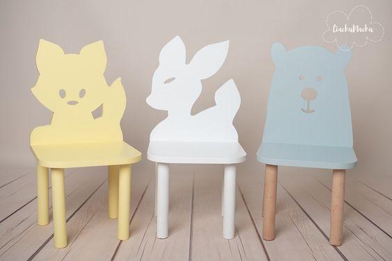 Детский стул коллекция Лесные Зверята код товара 5708