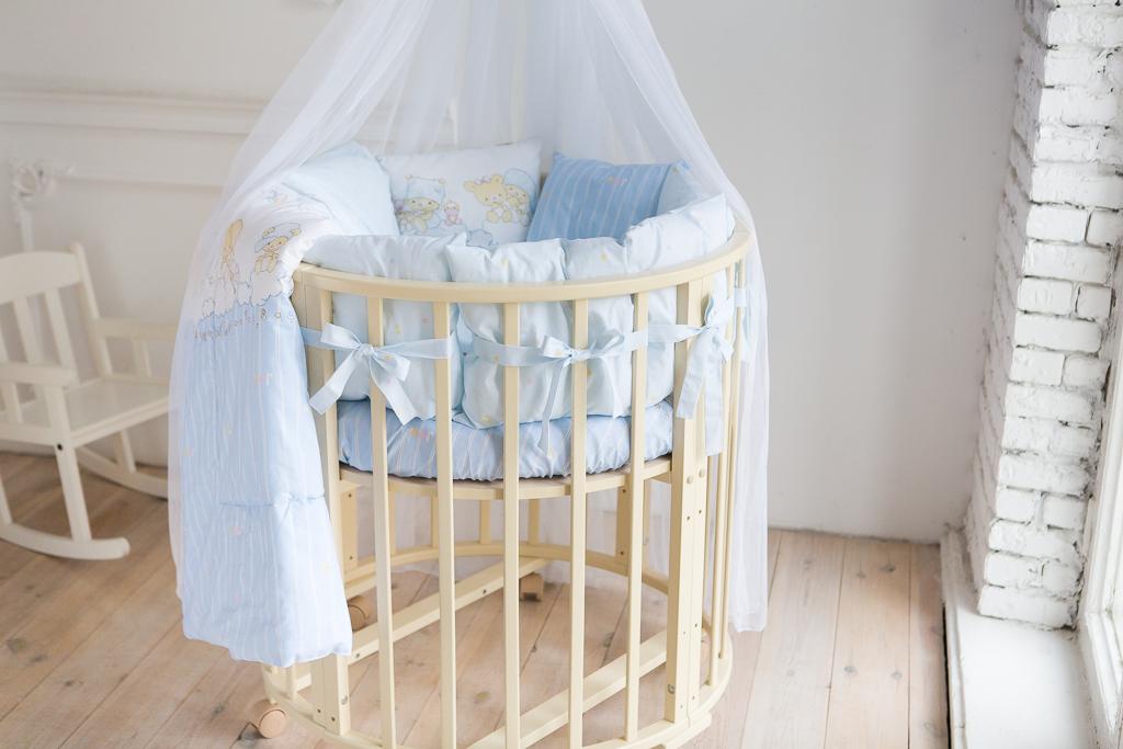 Постельное в круглую кроватку Мечта (9 предметов)