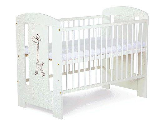 Детская кроватка KLUPS safary жираф Белый NEW!!!