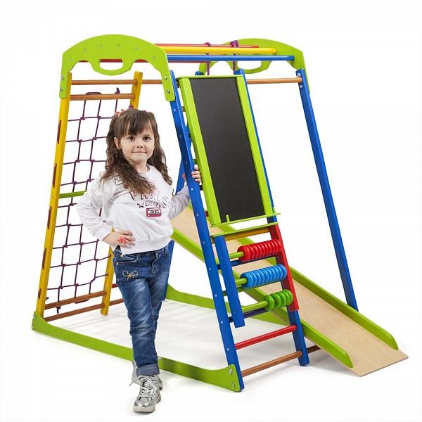 Детский спортивный комплекс SportWood Plus.