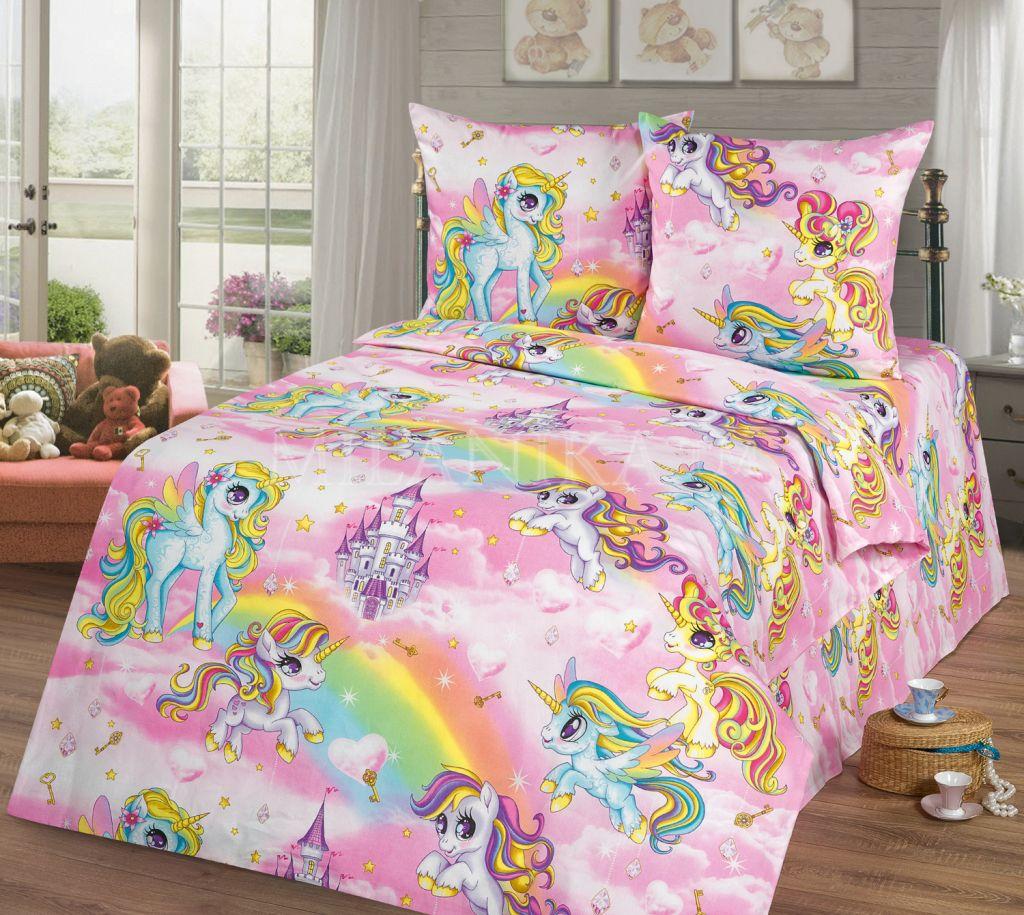 Детское постельное для подростков «My little pony» new. (бязь)