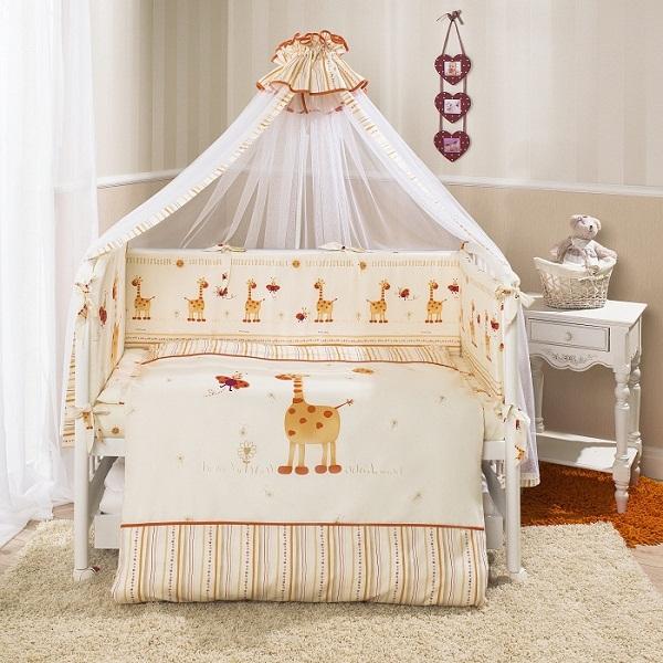 Детское постельное белье Перина Кроха (7 предметов).
