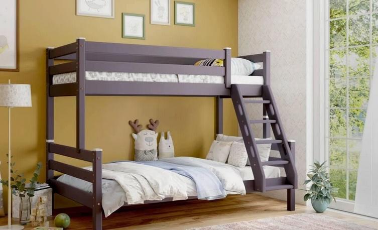 Кровать двухъярусная Адель цвет Лаванда