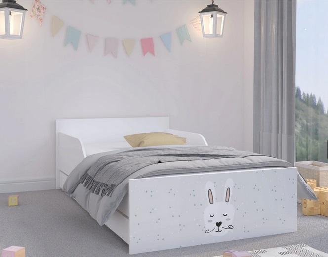 """Кровать подростковая Max XL """"Зайка"""" с матрасом."""