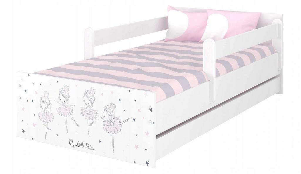 """Кровать подростковая Max XXL """"Прима балерина"""" с матрасом."""