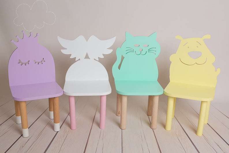 Детский стул коллекция Зверята код товара 5612