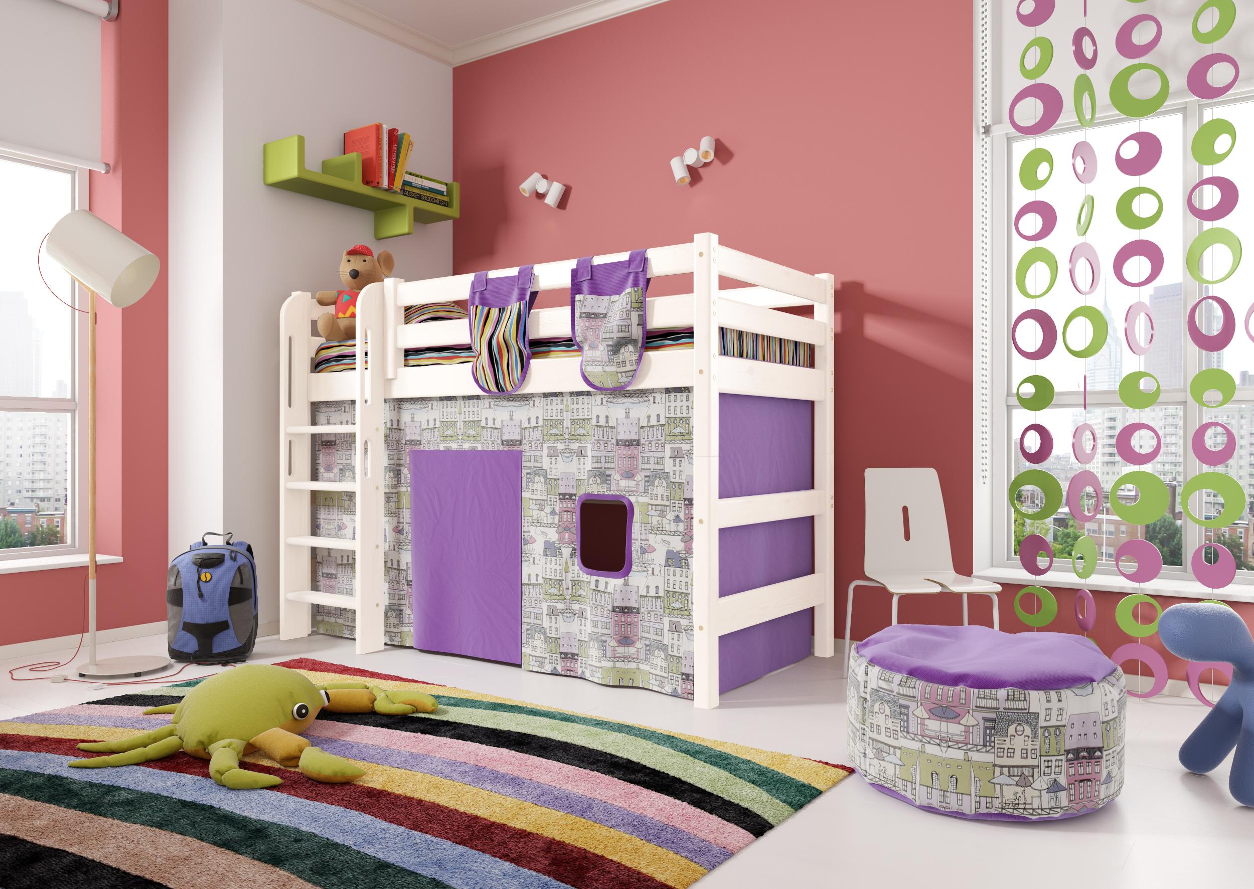 Кровать чердак  Соня (вариант 5).