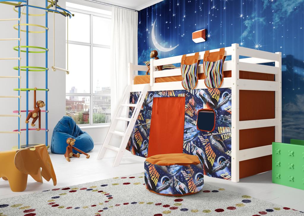 Кровать чердак  Соня (вариант 6).