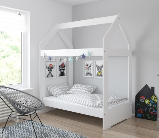 Кровать домик от Baby-Boo без подкроватного ящика.