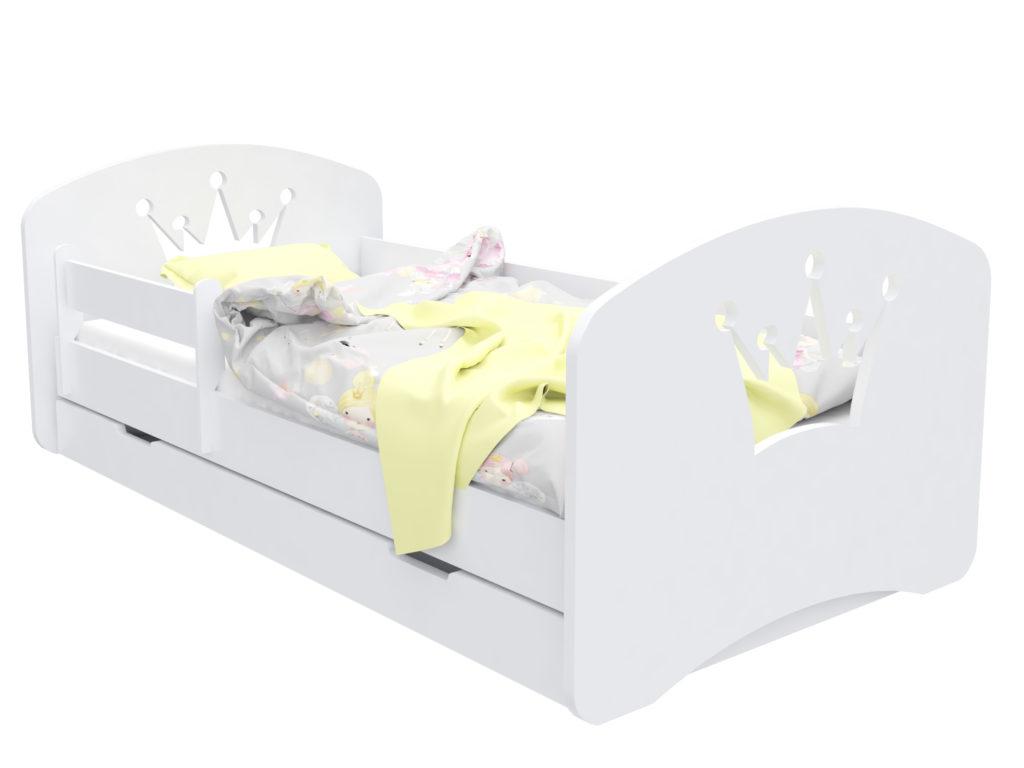 """Кровать детская """"Корона""""  с матрасом."""