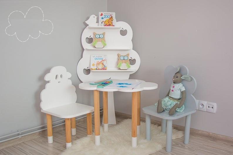Детский стол и стул Бараш и Облачко код товара 5705