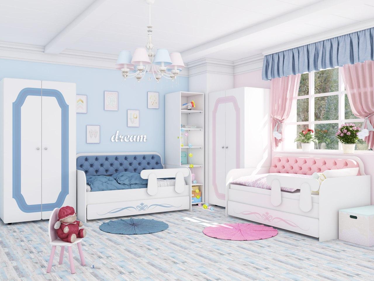 Детская комната Классик коллекция Орнамент (для двойни).
