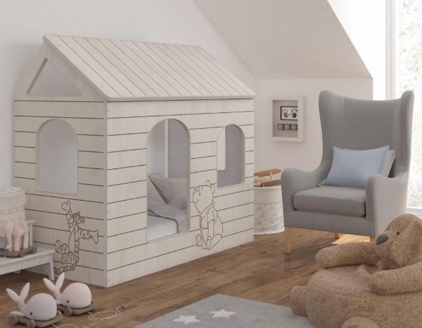 Кровать домик от Baby-Boo Винни Пух.