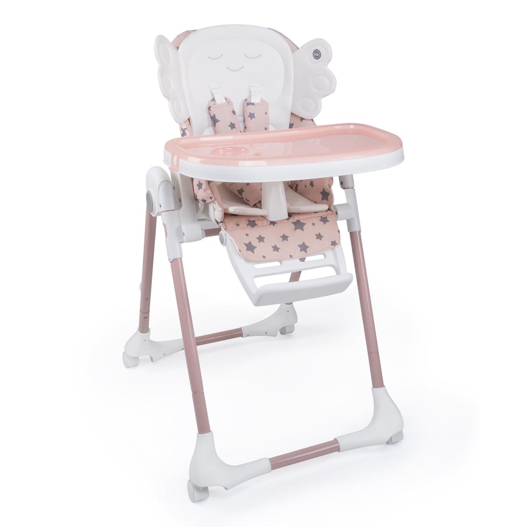 """Стульчик  для кормления Happy Baby """"WINGY"""" pink."""