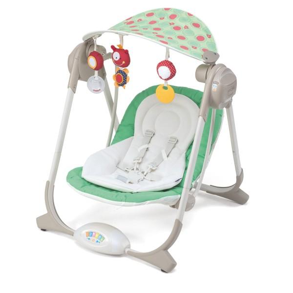 Детские электронные качели Chicco Polly Swing цвет Greenland
