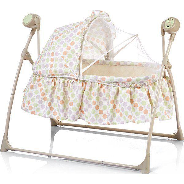 Качели для новорожденных Bambola Sonno бежевый.