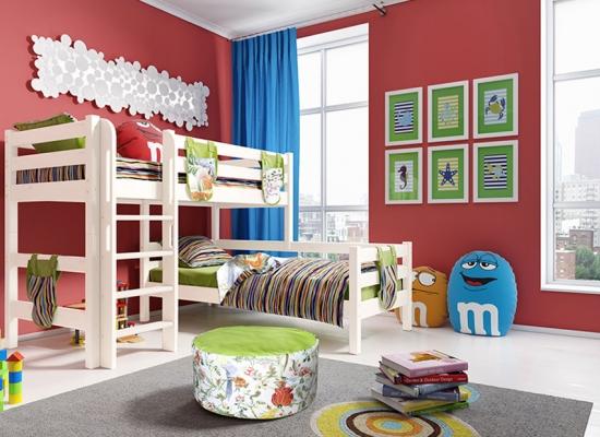 Кровать чердак Соня (вариант 7).
