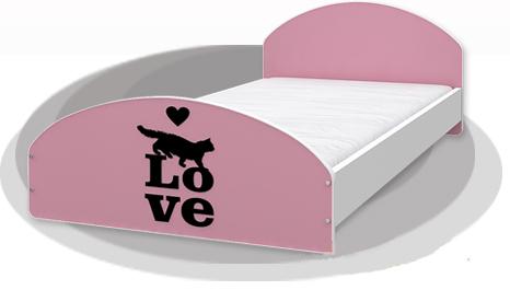 """Кровать подростковая Cross """"Love"""" 200х90"""