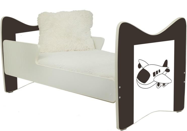 """Кровать подростковая JUNIOR PLUS """" Самолет"""" 180x90."""