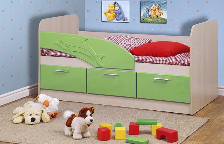 Кровать детская Дельфин  арт. 06.222