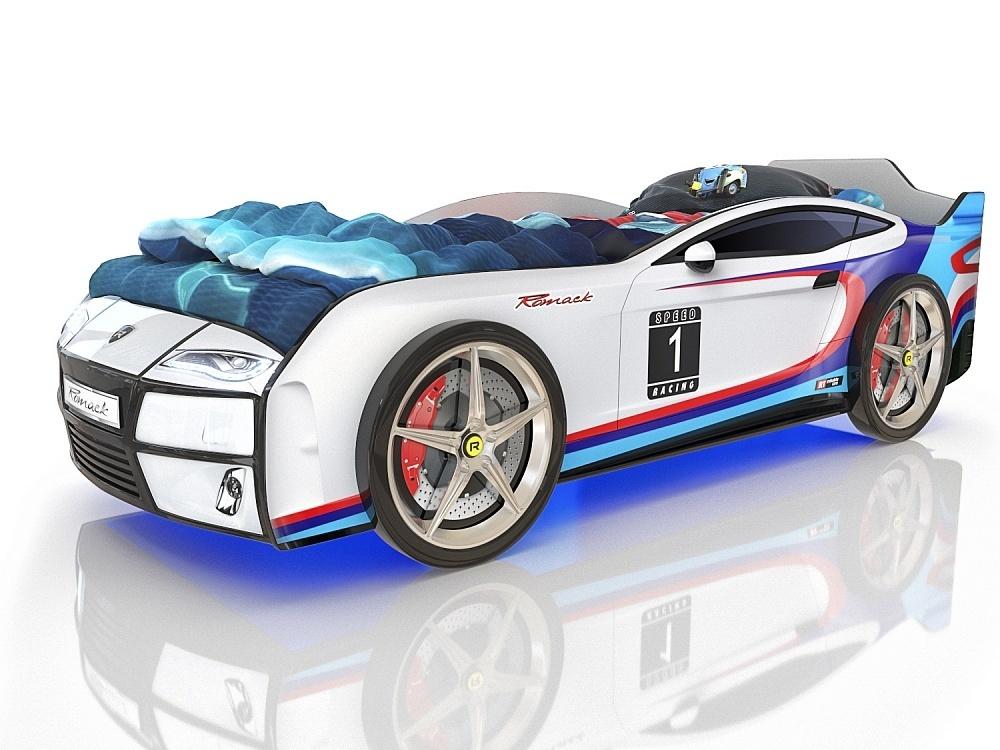 Кровать машина Romack Kiddy Ferrari m-sport.