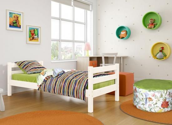 Кровать подростковая Соня вариант 1 (массив).