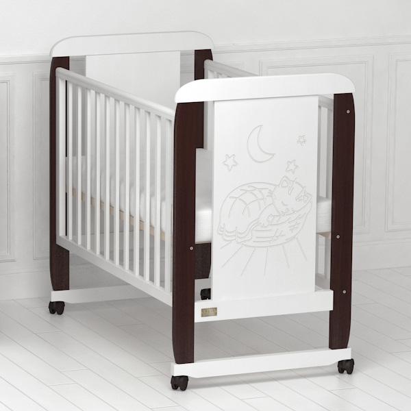 Кроватка детская Micio (колесо-качалка).