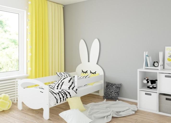 Кровать детская Bunny с бортиками.
