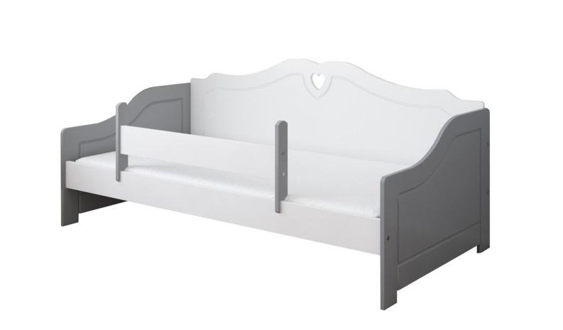 Кровать детская от 3х лет Лаура (модель 3) с матрасом, бортиком и ящиком.