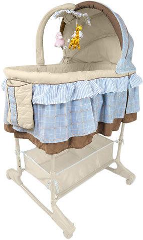 Детская колыбель для новорожденного Milly Mally Sweet Melody Blue.