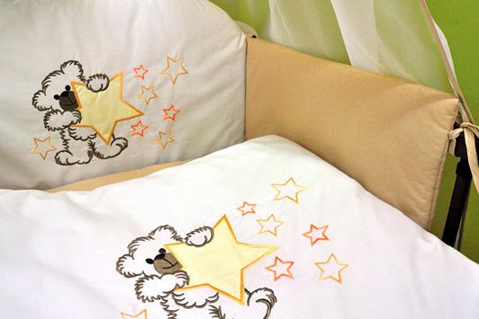 """Постельное белье """"Мишка со звездами"""" H221 (klups)"""