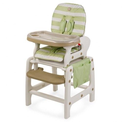 """Стульчик для кормления Happy Baby """"Oliver"""" V2 green."""