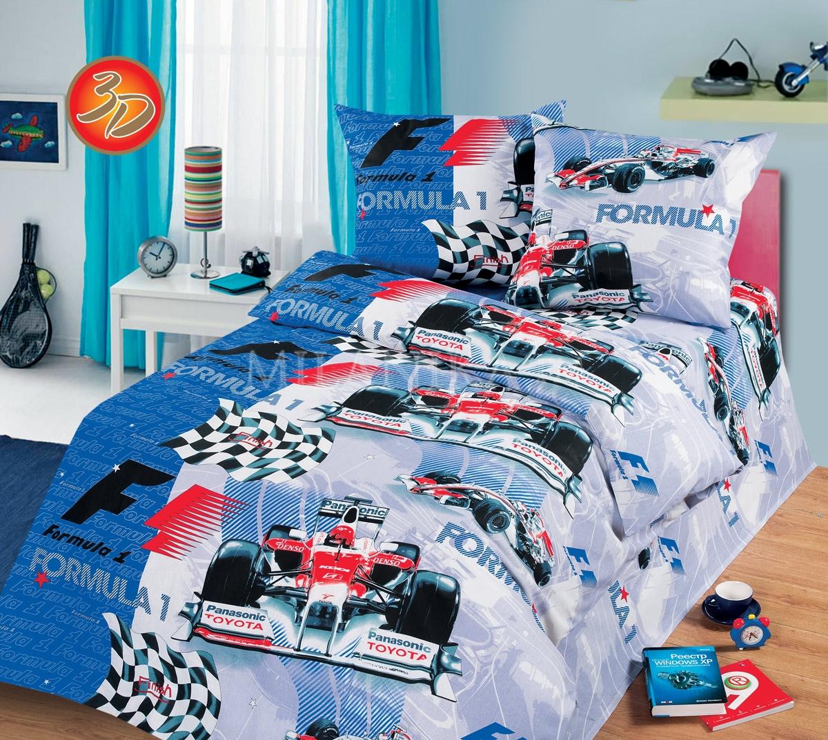 Детское постельное для подростков «Формула».