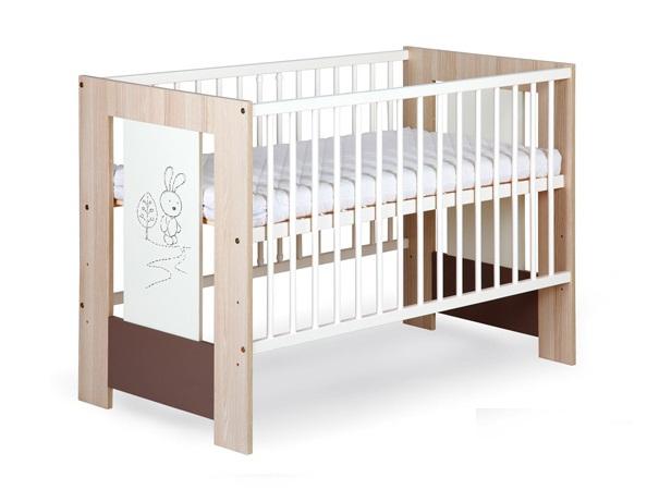 Детская кроватка Klups Сафари Кролик.
