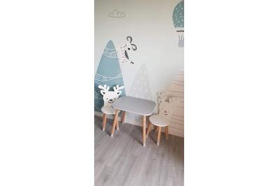 Детский стол и стул Бэмби код товара 5713